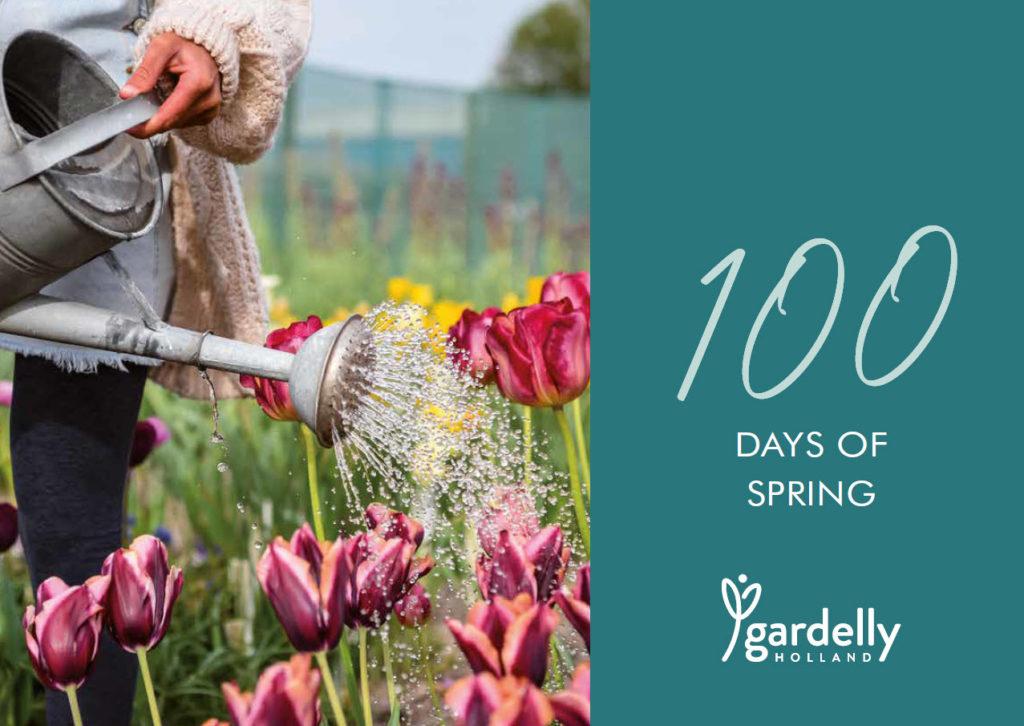 100 dagen lente bloei